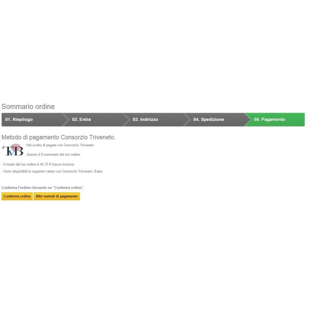 module - Pagamento con Carta di Credito o Wallet - POS Virtuale Consorzio Triveneto - TVB - Completo - 4