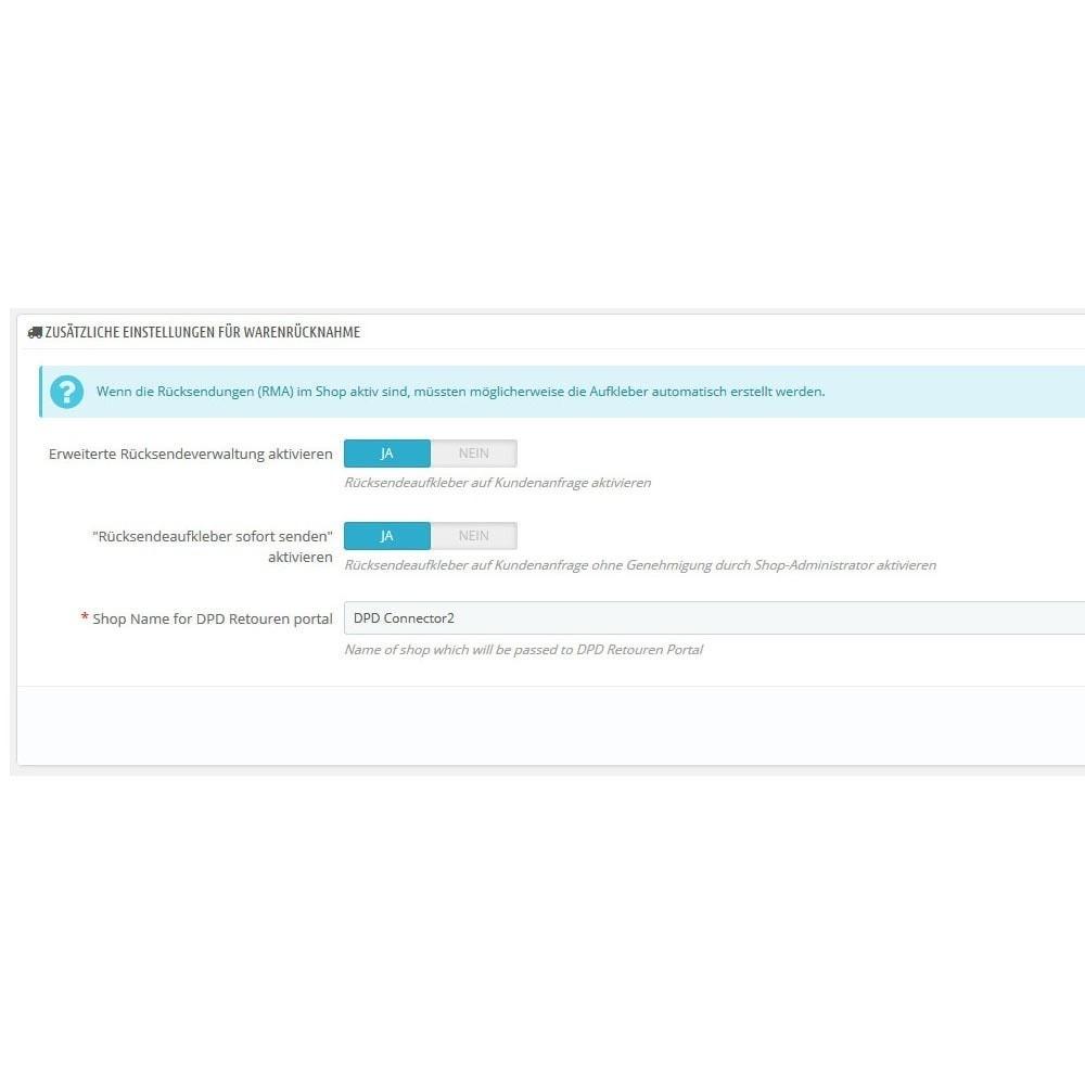 module - Preparação & Remessa - DPD Deutschland Connector - 4