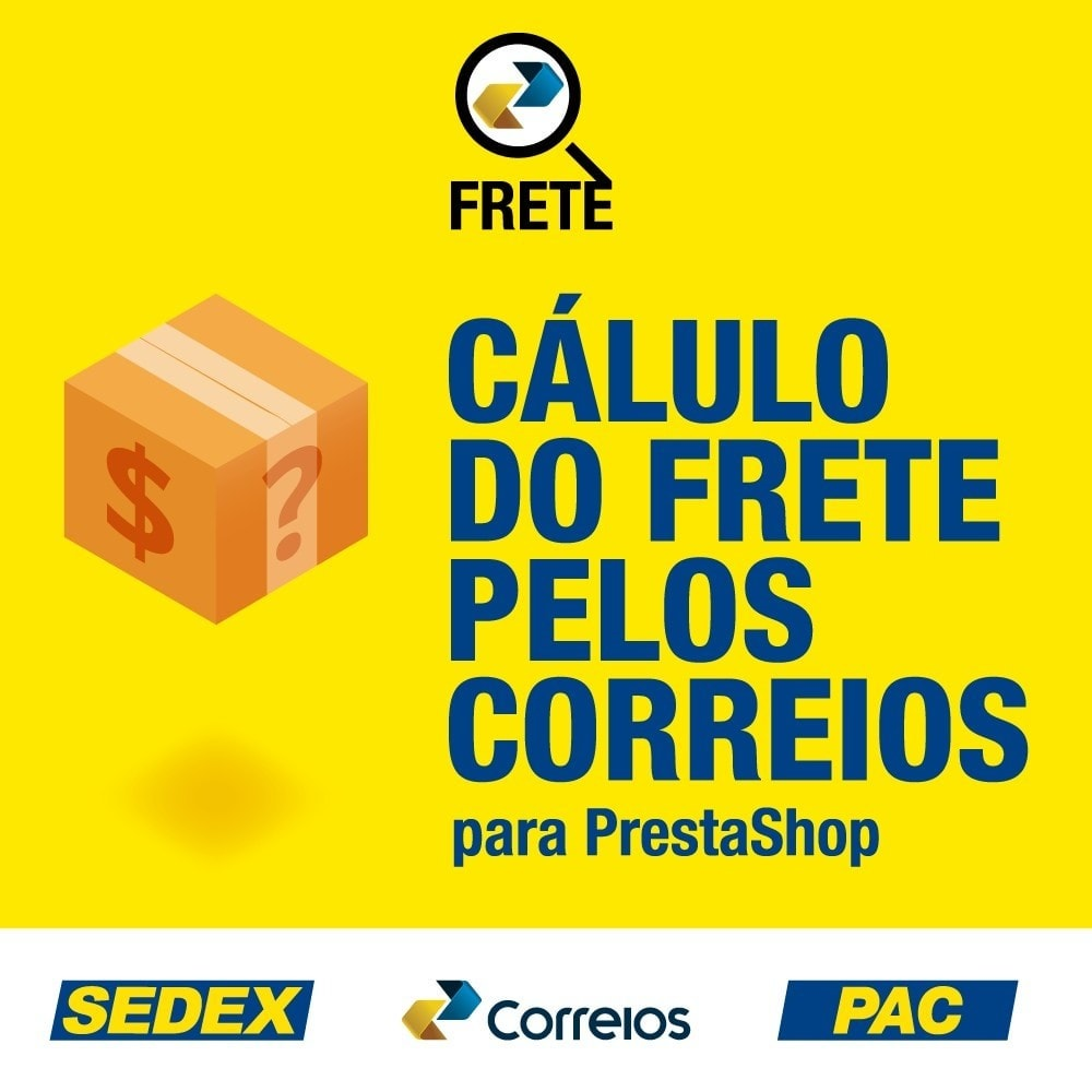 module - Shipping Carriers - Shipping cost calculation by the Brazilian Correios - 1