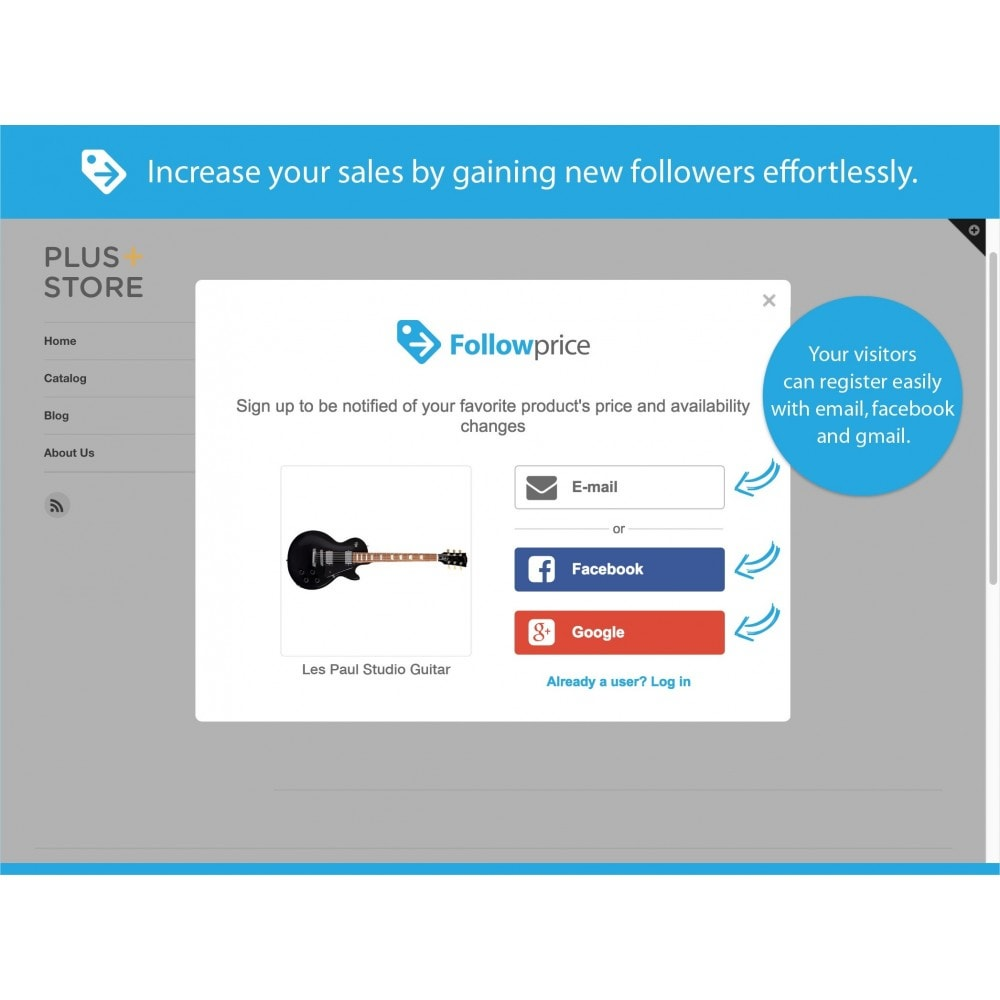 module - Notifications & Automatic Emails - Price Drop and In Stock Alert by Followprice - 2