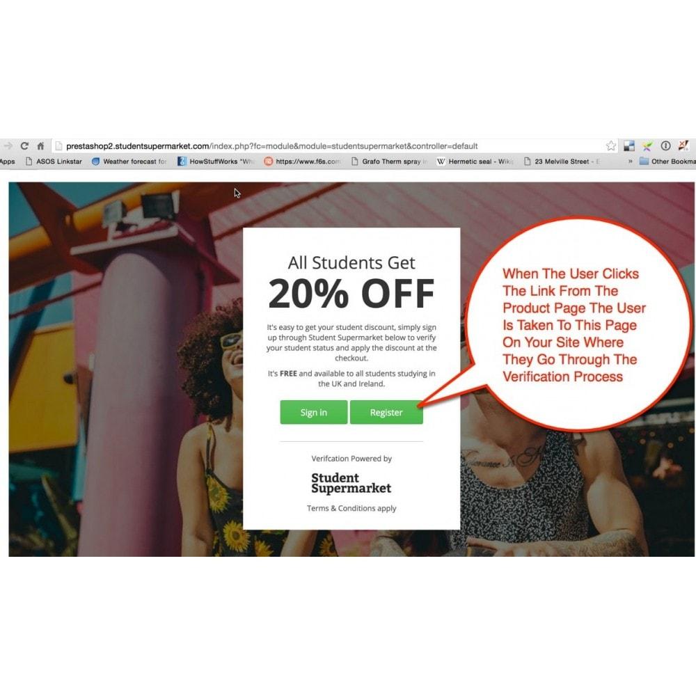 module - Promotions & Cadeaux - Student Discount - 4