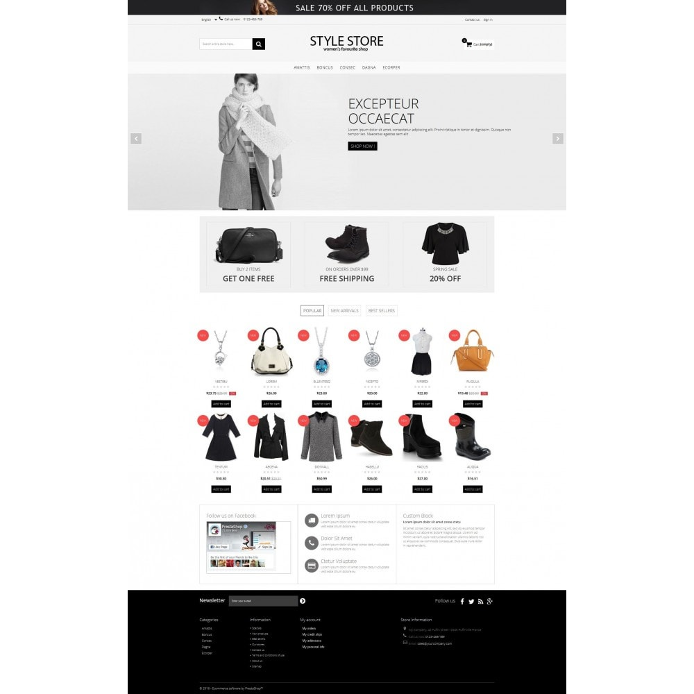 theme - Fashion & Shoes - Style Fashion Store HTML5 - 2