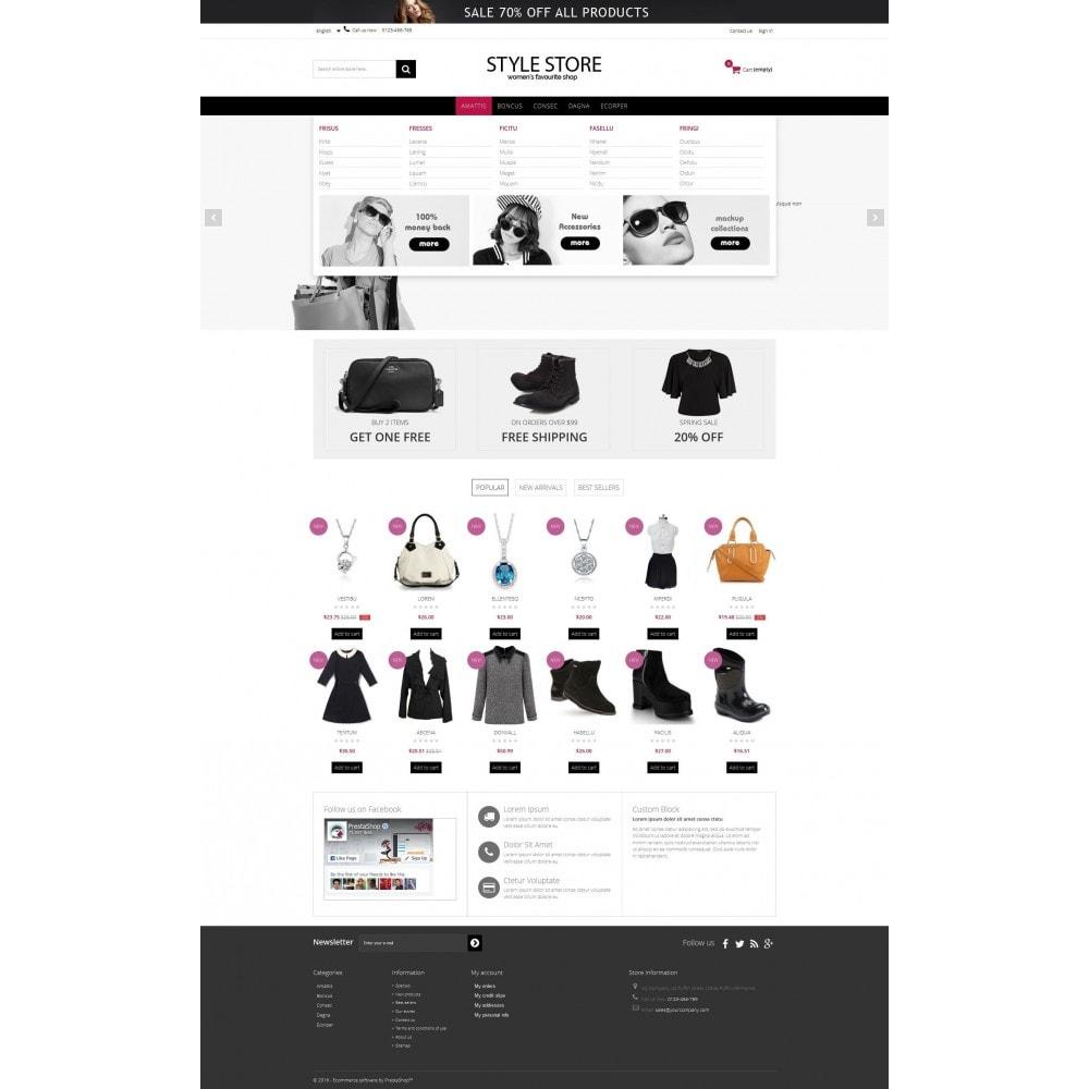 theme - Fashion & Shoes - Style Fashion Store HTML5 - 3
