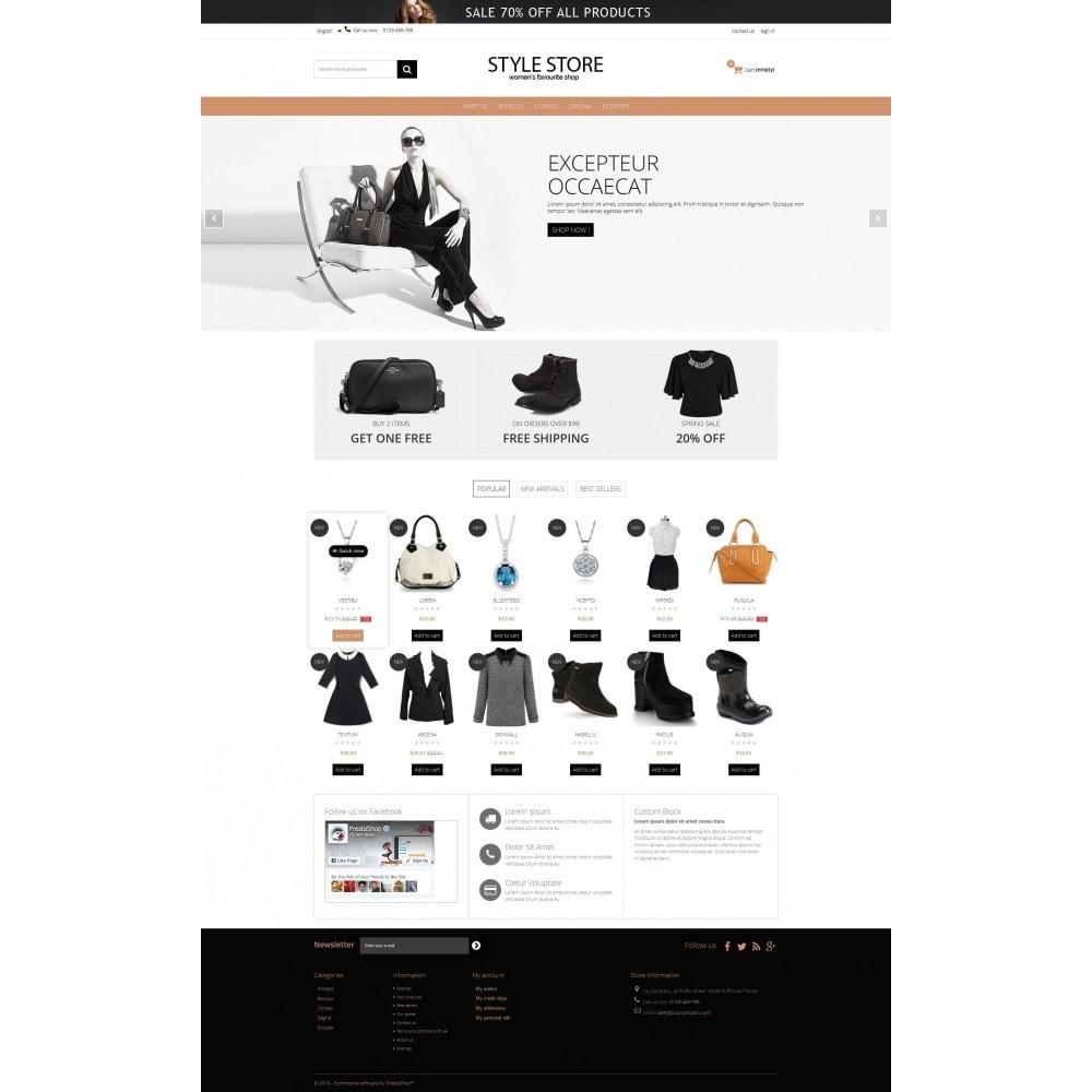 theme - Fashion & Shoes - Style Fashion Store HTML5 - 4