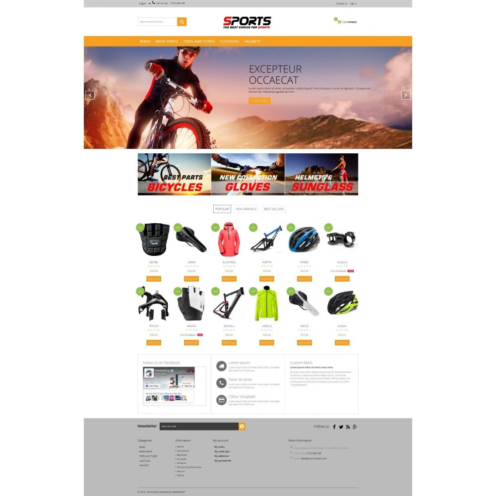 theme - Sport, Loisirs & Voyage - Sports Multipurpose HTML5 - 8