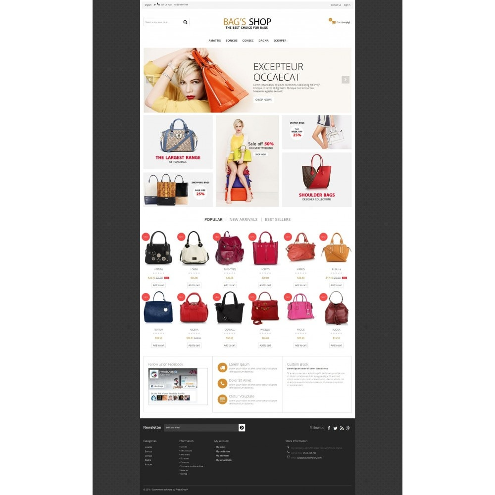 theme - Jewelry & Accessories - Bags shop Multipurpose HTML5 - 3