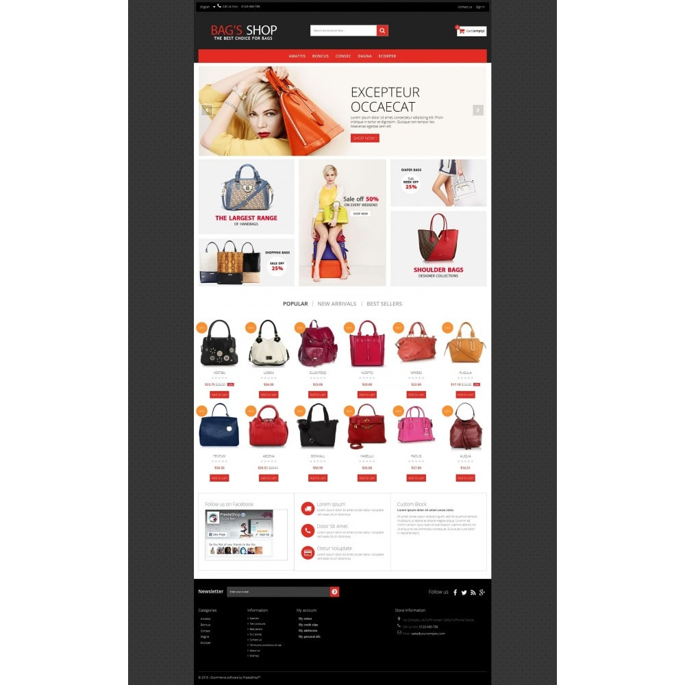 theme - Jewelry & Accessories - Bags shop Multipurpose HTML5 - 7