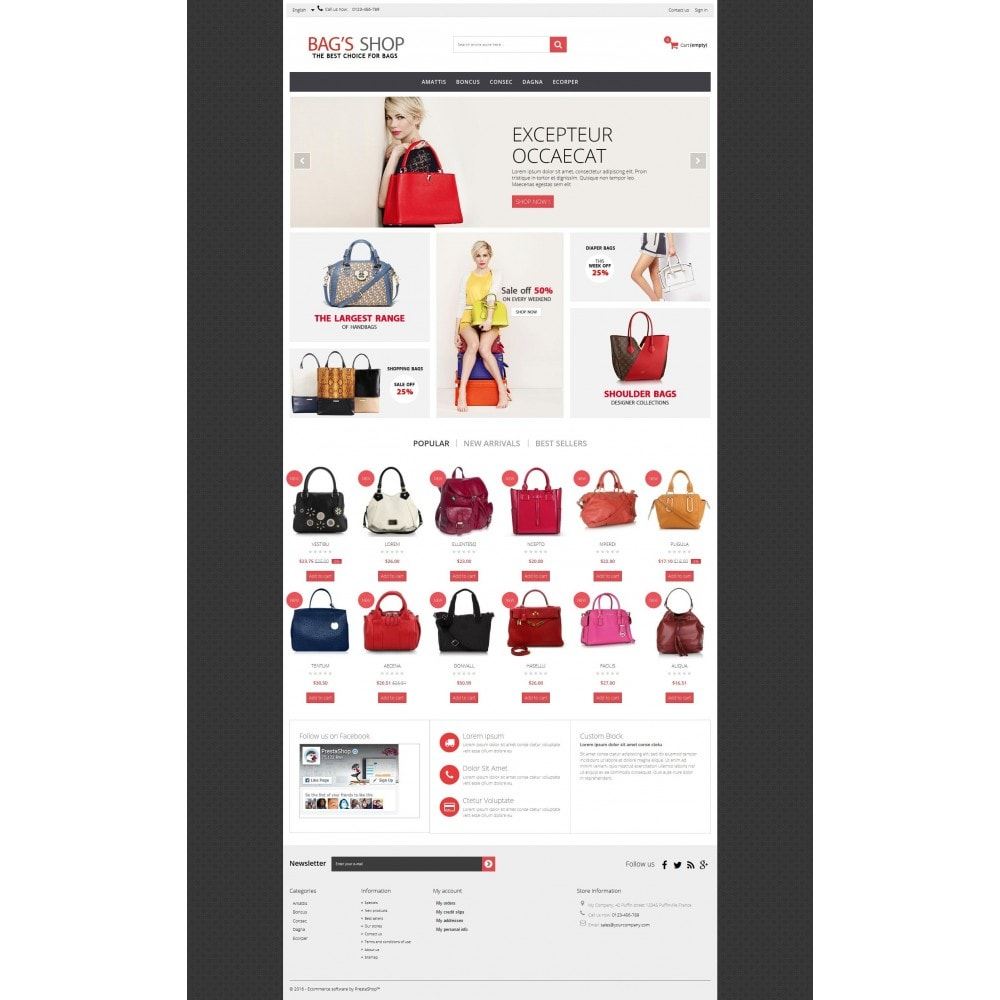 theme - Jewelry & Accessories - Bags shop Multipurpose HTML5 - 8
