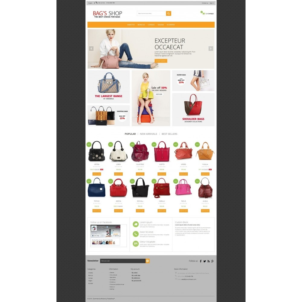 theme - Jewelry & Accessories - Bags shop Multipurpose HTML5 - 9