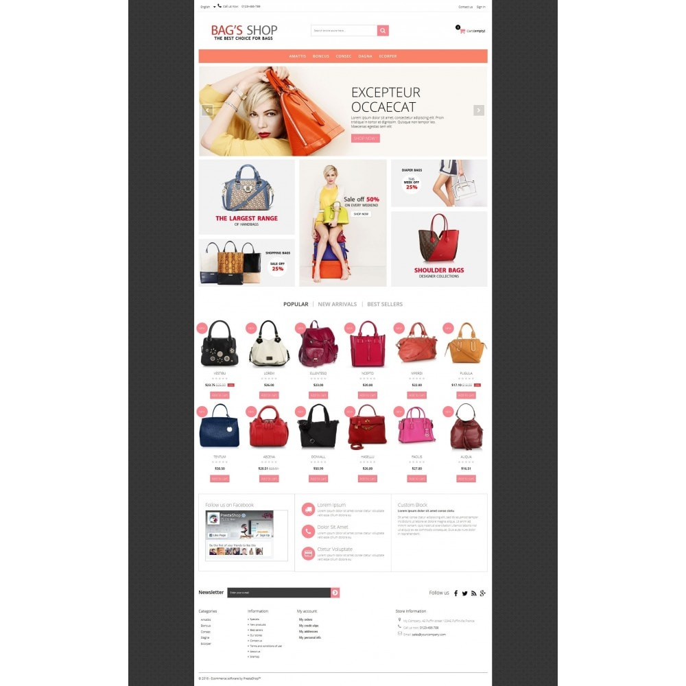 theme - Jewelry & Accessories - Bags shop Multipurpose HTML5 - 10