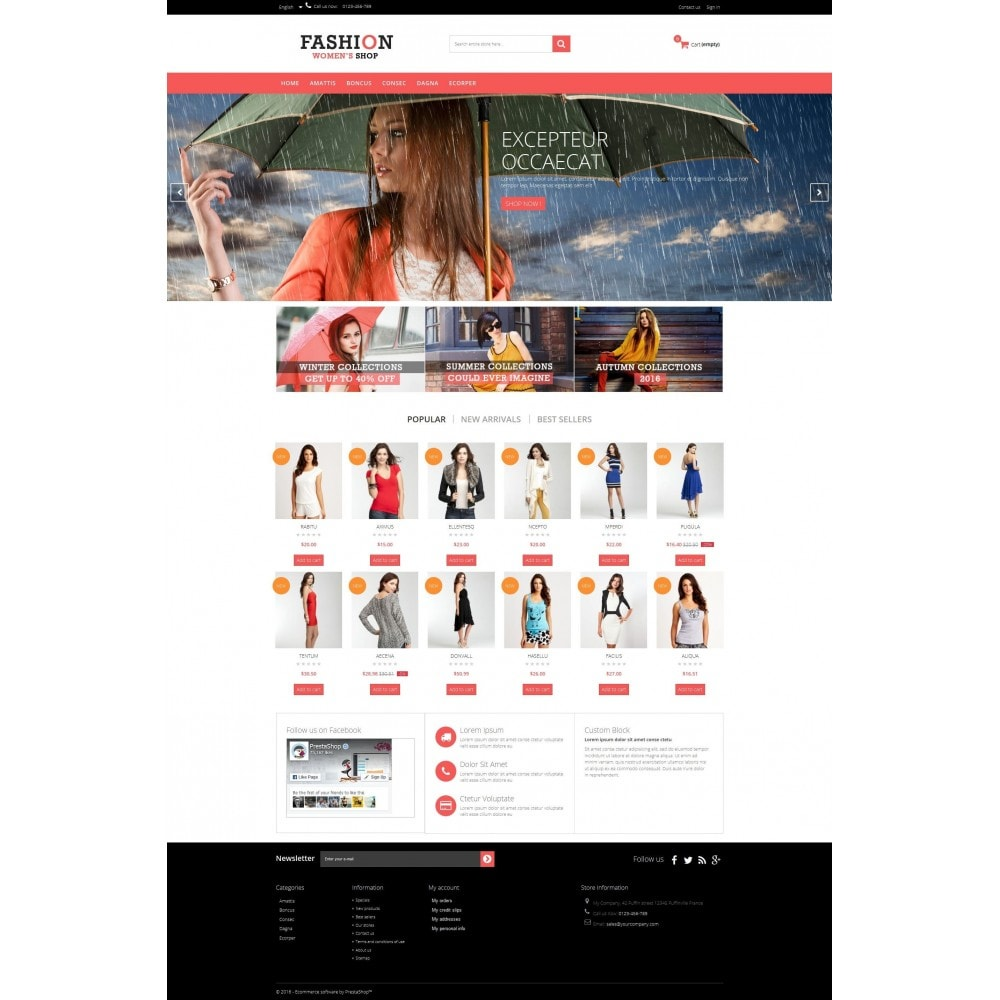 theme - Moda & Obuwie - Fashion Multipurpose HTML5 - 2