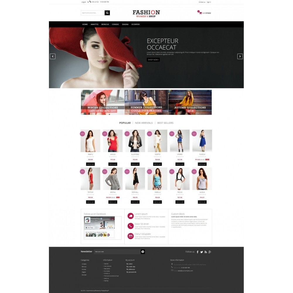 theme - Moda & Obuwie - Fashion Multipurpose HTML5 - 3