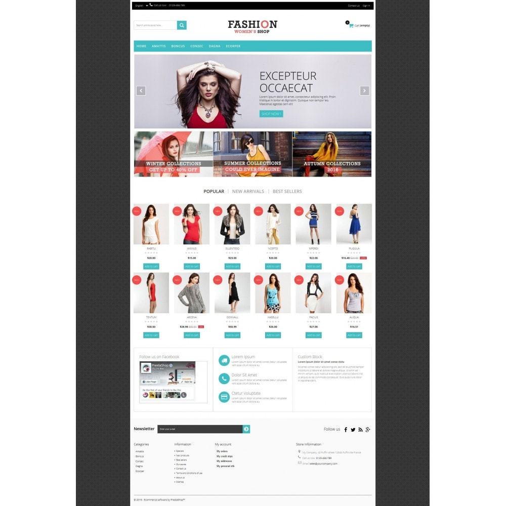 theme - Moda & Obuwie - Fashion Multipurpose HTML5 - 5