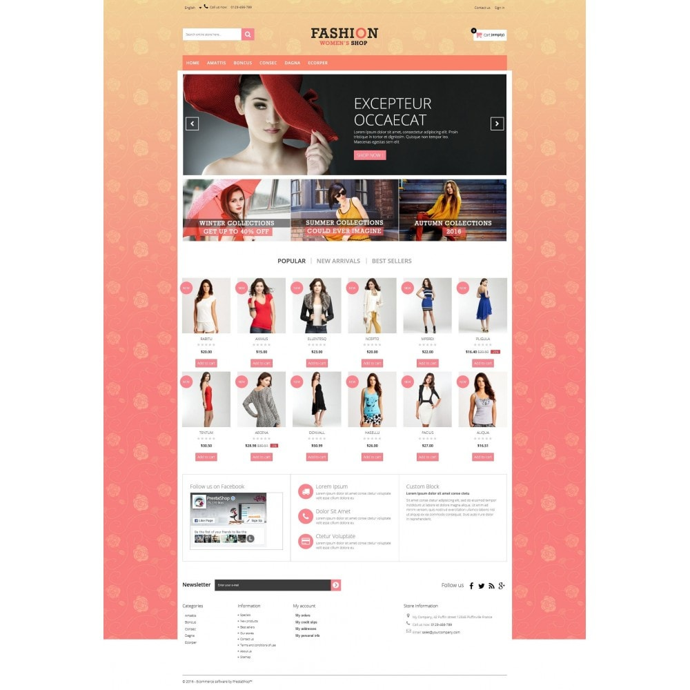 theme - Moda & Obuwie - Fashion Multipurpose HTML5 - 6