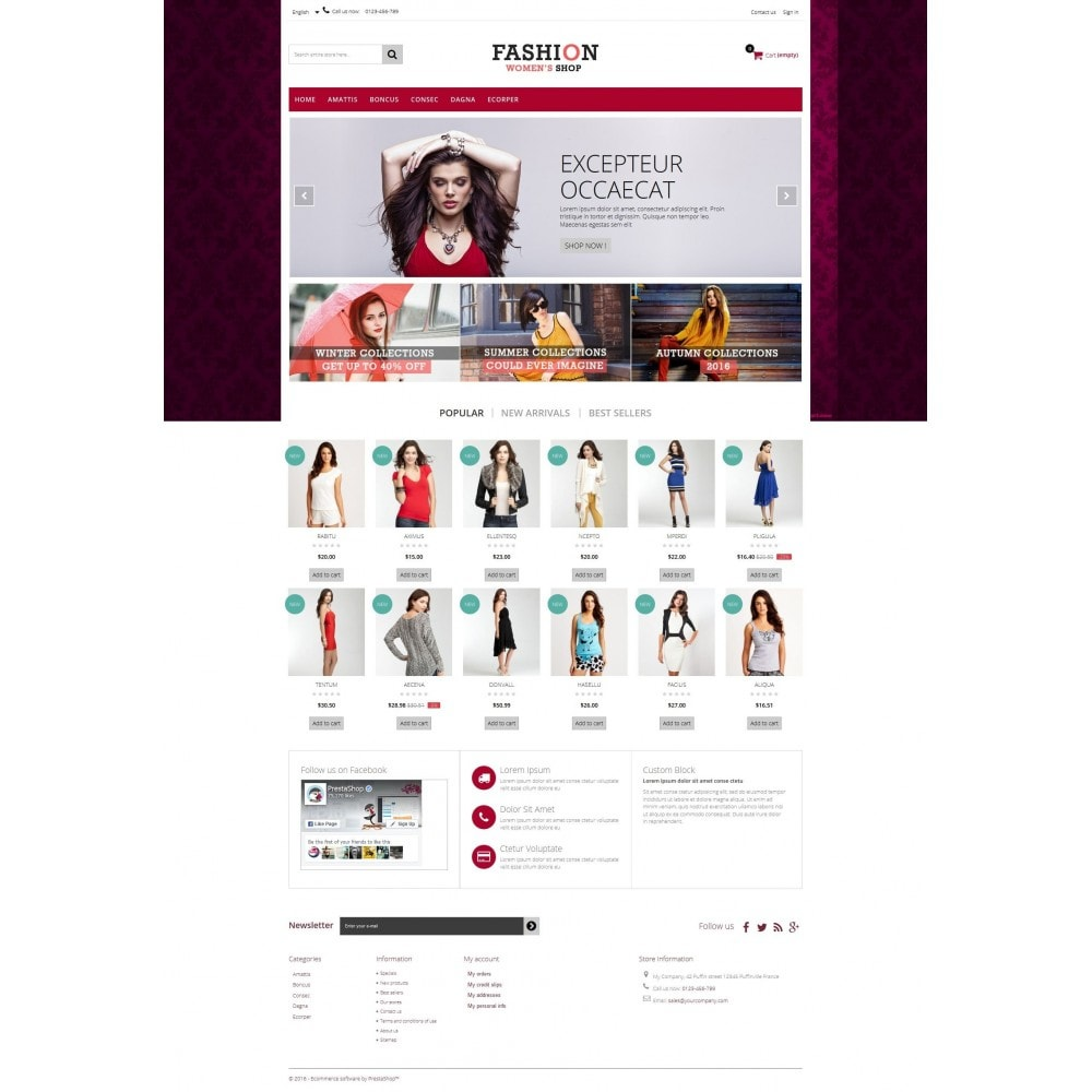 theme - Moda & Obuwie - Fashion Multipurpose HTML5 - 7