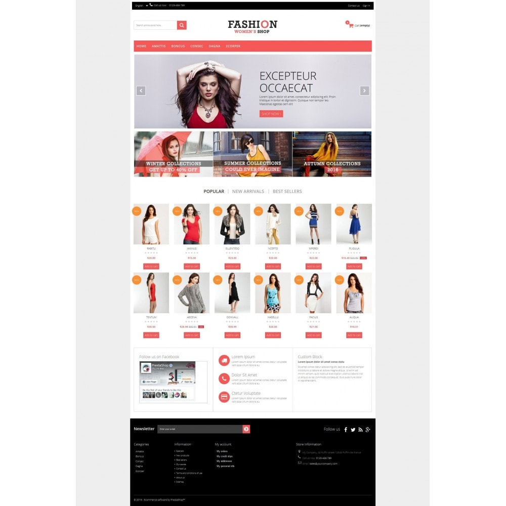theme - Moda & Obuwie - Fashion Multipurpose HTML5 - 8
