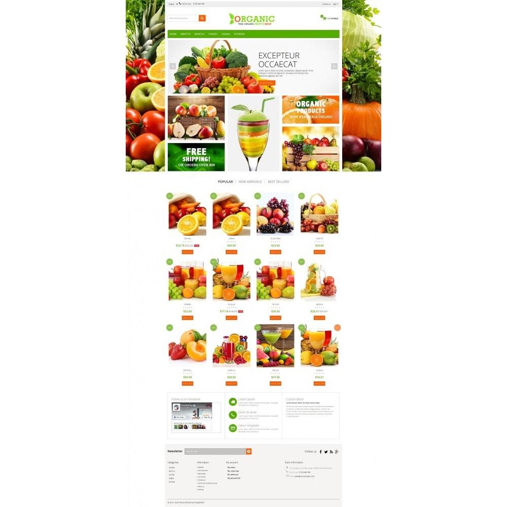 theme - Cibo & Ristorazione - Organic Multishop  HTML5 - 6