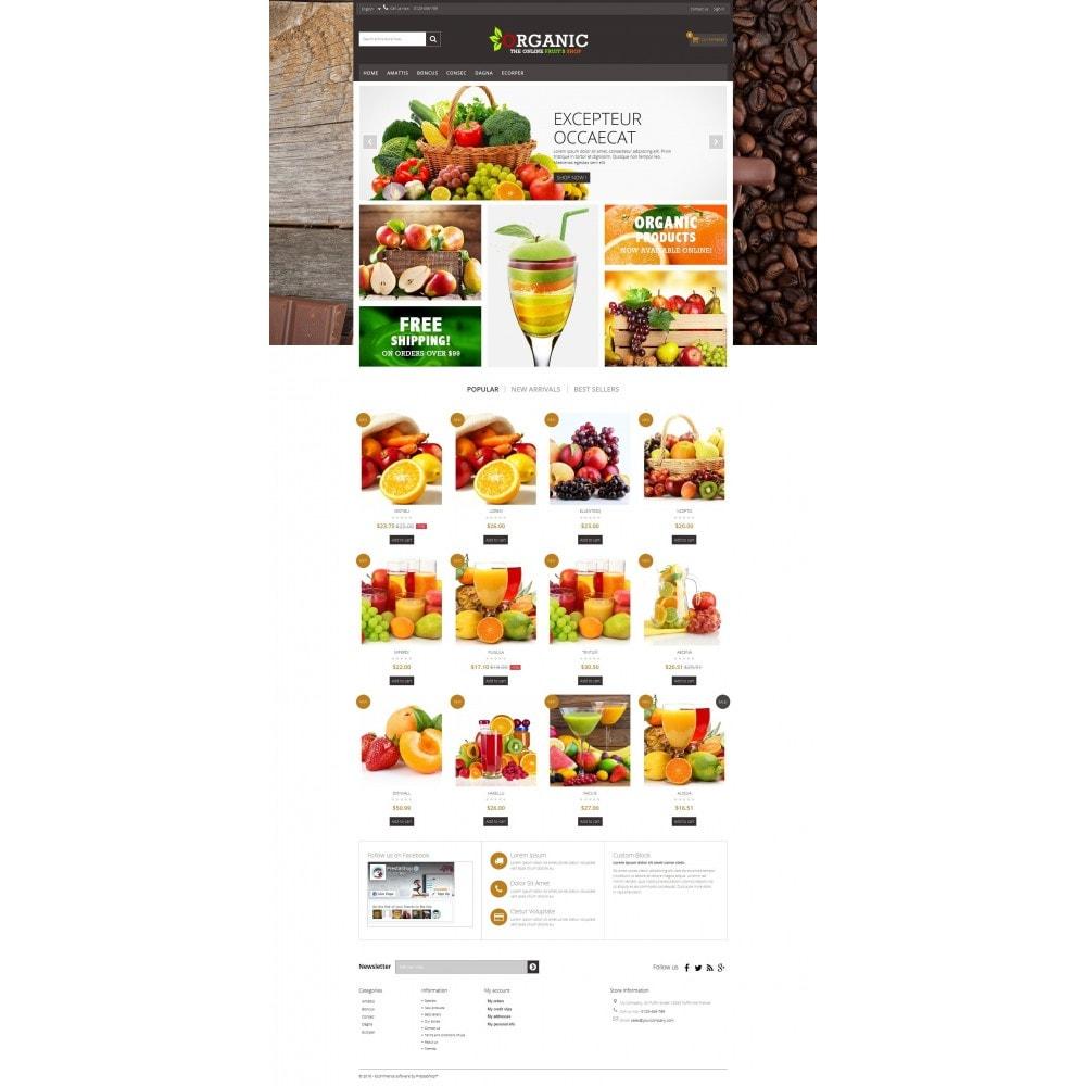 theme - Cibo & Ristorazione - Organic Multishop  HTML5 - 7