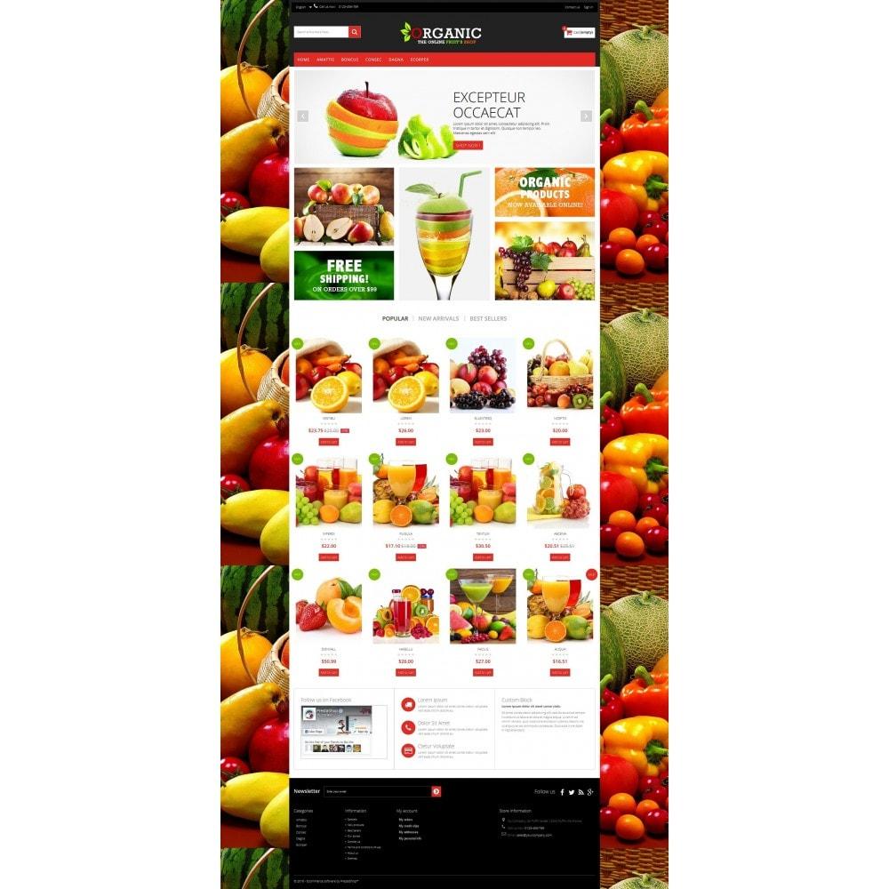 theme - Cibo & Ristorazione - Organic Multishop  HTML5 - 8