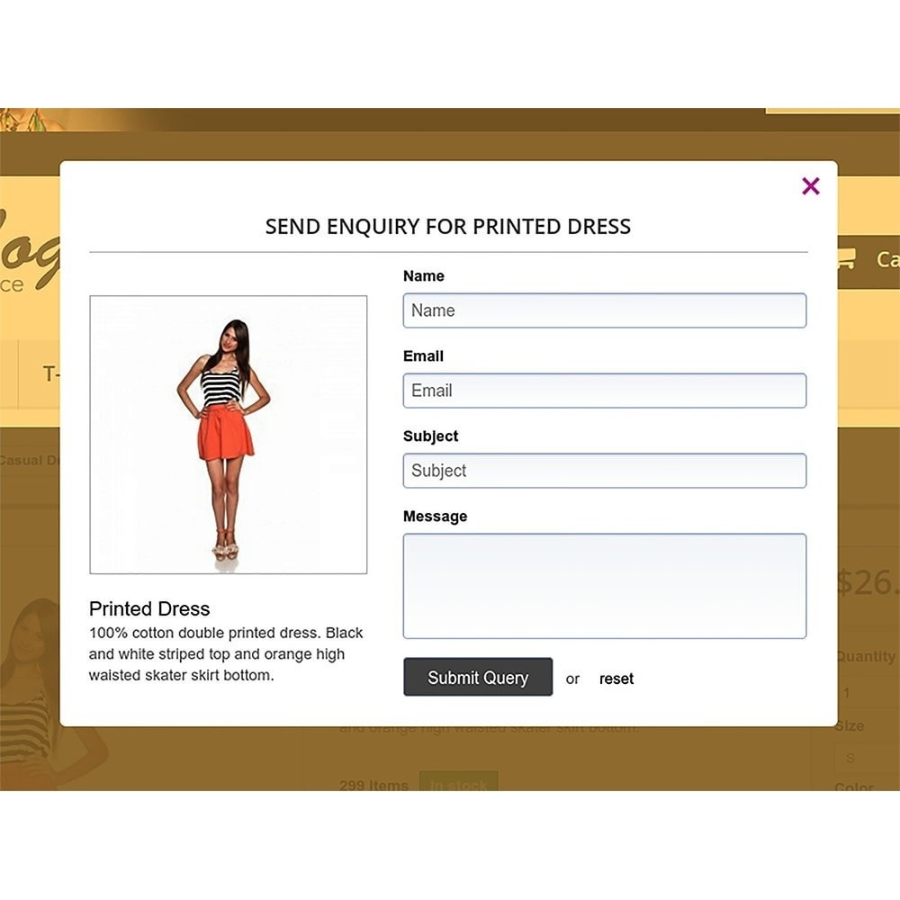 module - FAQ (Perguntas frequentes) - Products Enquiry - 3