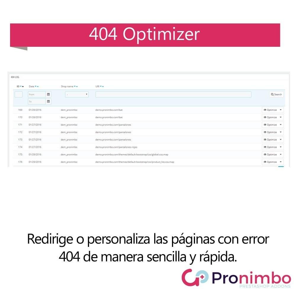 module - URL y Redirecciones - Optimizador 404 - 2