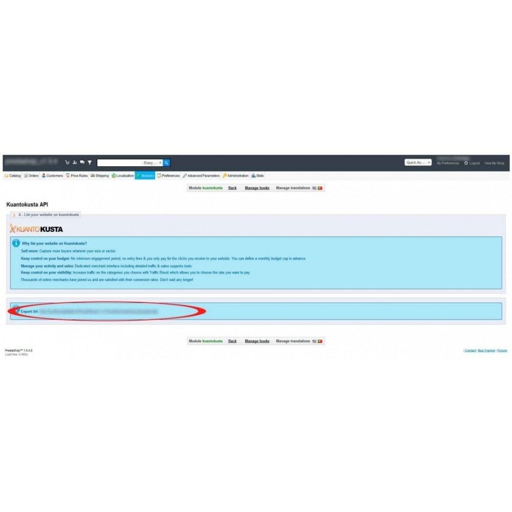 module - Comparadores de preços - Kuantokusta API - 2