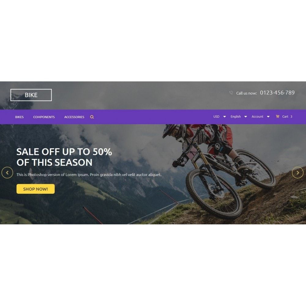 theme - Sport, Activiteiten & Reizen - Bike Store - 3