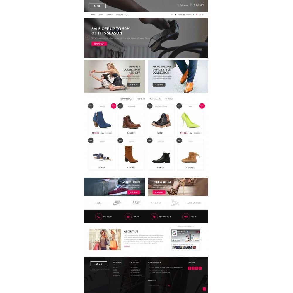 theme - Mode & Schoenen - Shoes Store - 2