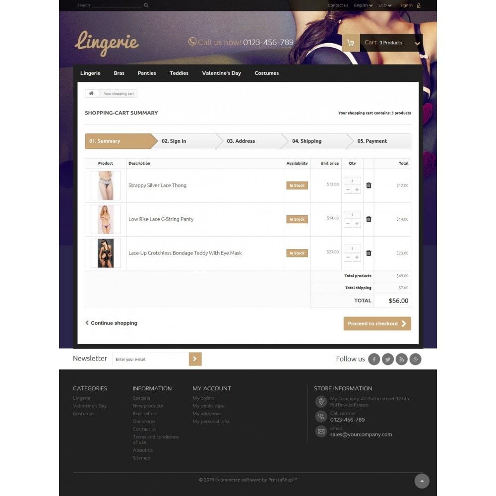 theme - Нижнее белье и товары для взрослых - Lingerie Store - 8
