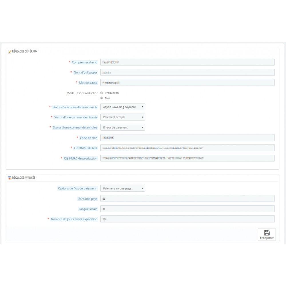 module - Paiement par Carte ou Wallet - Paiement Adyen - 2