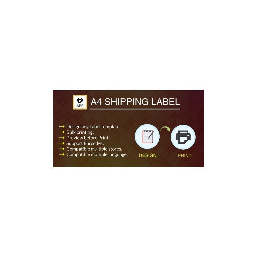 module - Preparazione & Spedizione - Professional Print Shipping Label by 1-Click - 1