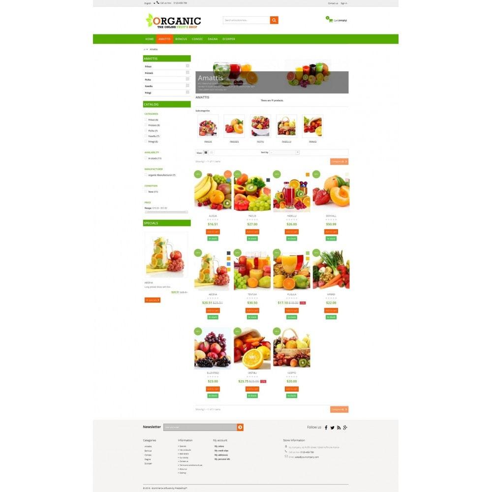 theme - Cibo & Ristorazione - Organic Multishop  HTML5 - 3
