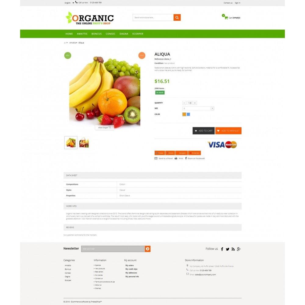 theme - Cibo & Ristorazione - Organic Multishop  HTML5 - 4