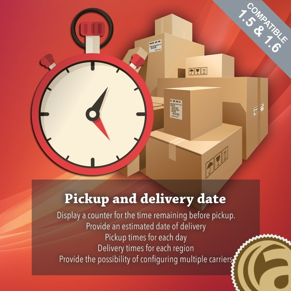 module - Lieferdatum - Pickup and delivery date - 1