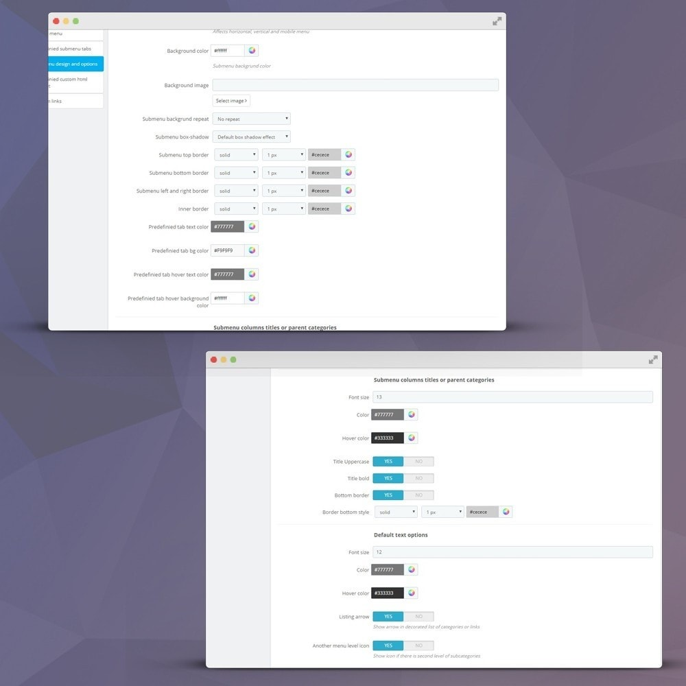 module - Меню - Horizontal and vertical mega menu (navigation dropdown) - 4