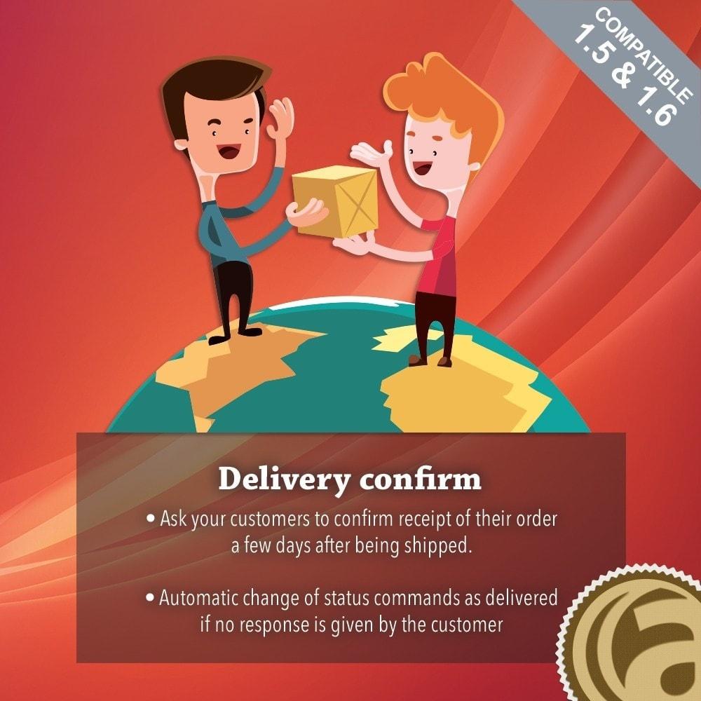 module - Auftragsabwicklung - Delivery confirm - 1