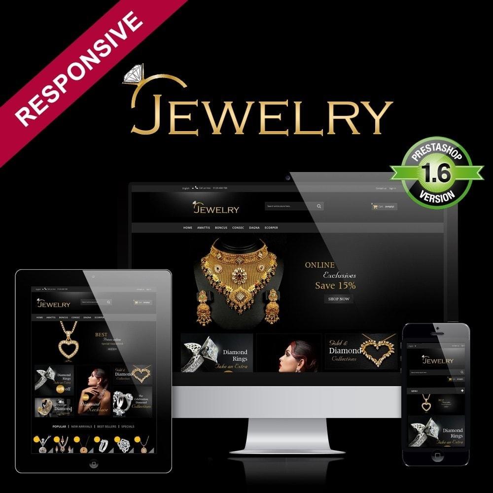 theme - Joalheria & Acessórios - Jewelry Multipurpose HTML5 - 1