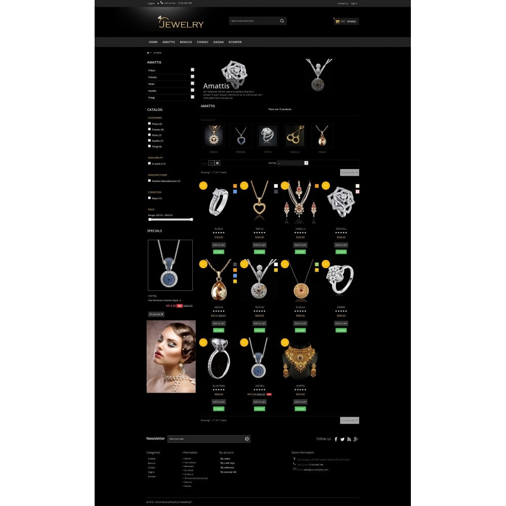 theme - Sieraden & Accessoires - Jewelry Multipurpose HTML5 - 3