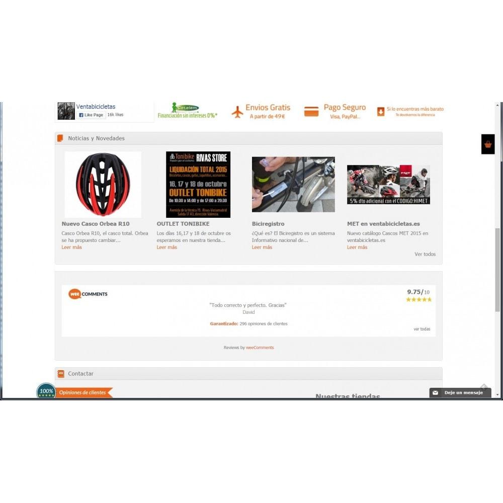 module - Comentarios de clientes - weeComments Opiniones de Clientes, Product Reviews - 4