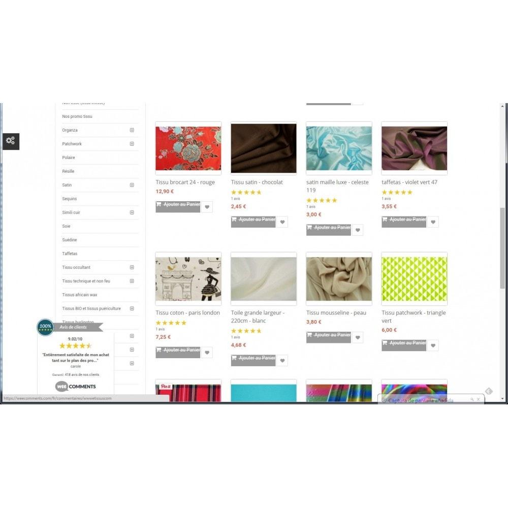 module - Comentarios de clientes - weeComments Opiniones de Clientes, Product Reviews - 7