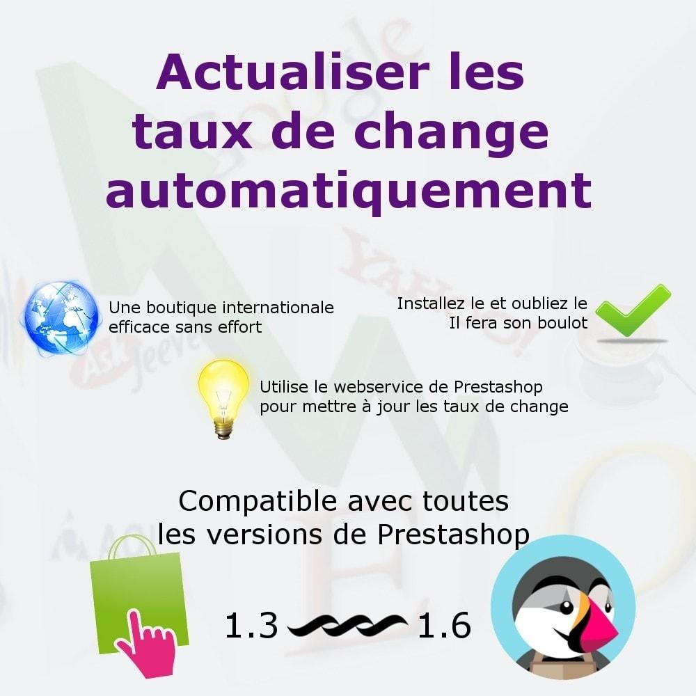 module - Gestion des Prix - Actualisez automatiquement les taux de change - 1