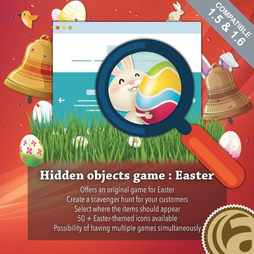 module - Игр-конкурсов - Hidden objects game : Easter - 1