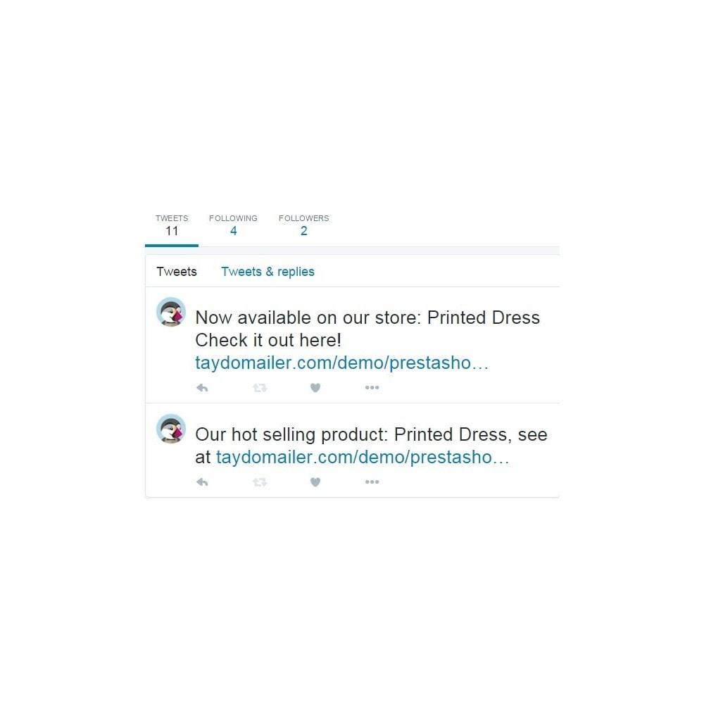 module - Widgets sozialer Netzwerke - Auto Post to Twitter - Auto Tweet Pro - 6
