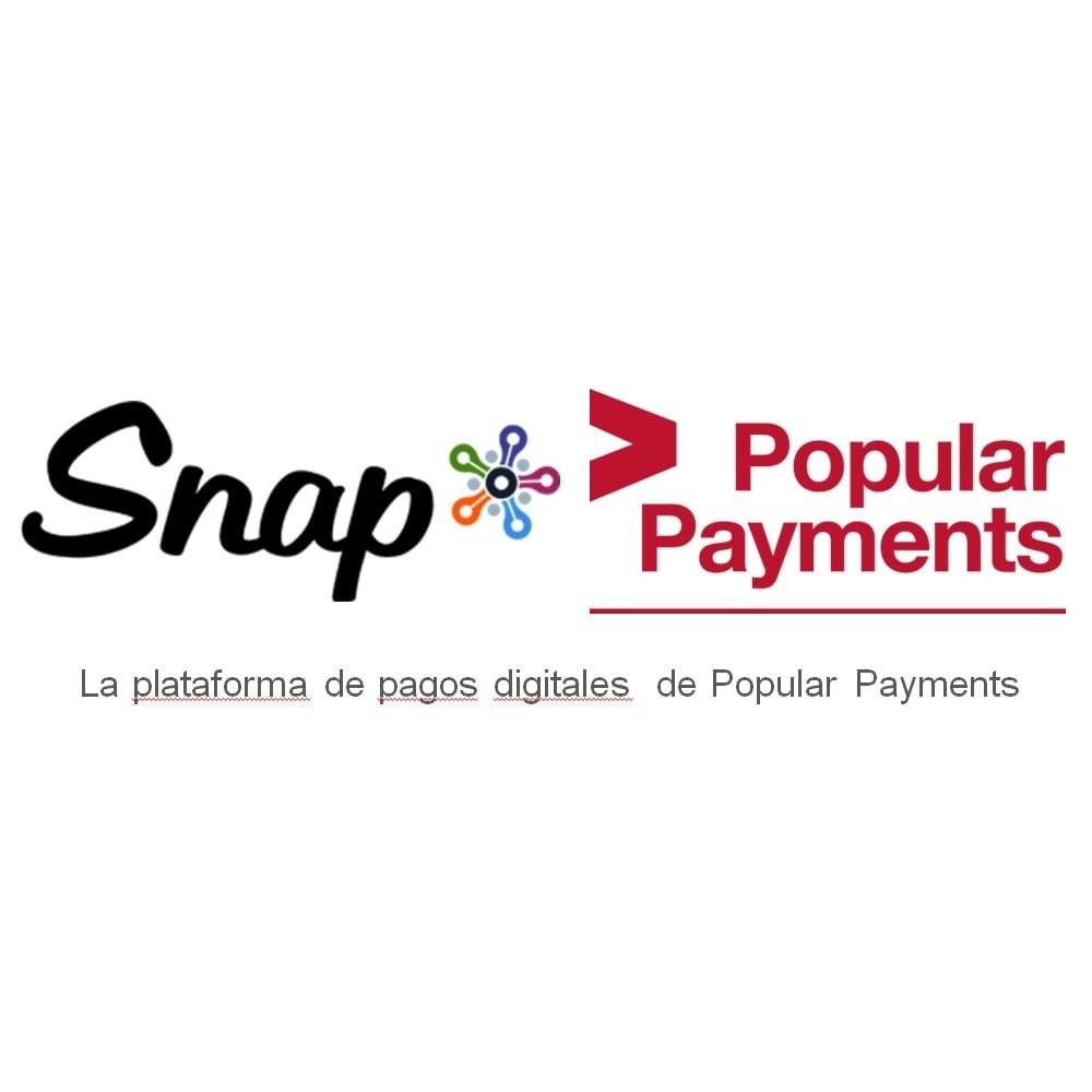 module - Pago con Tarjeta o Carteras digitales - TPV Virtual Snap* por Popular Payments - 1