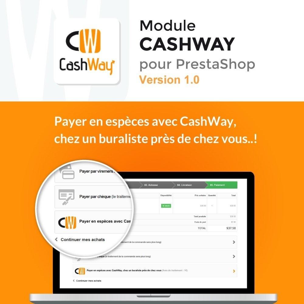 module - Autres moyens de paiement - CashWay - Payer en espèces sur Internet - 1