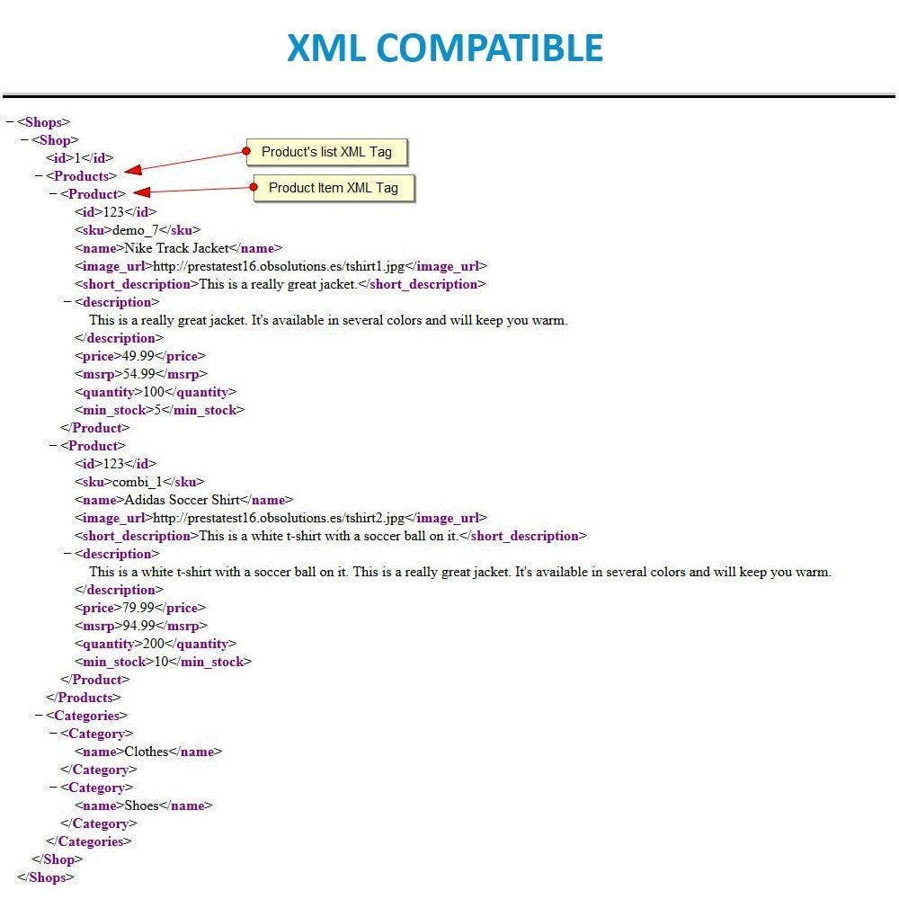 module - Import & Export de données - Massive CSV/XML Updater via URL/FTP cronjobs compatible - 16