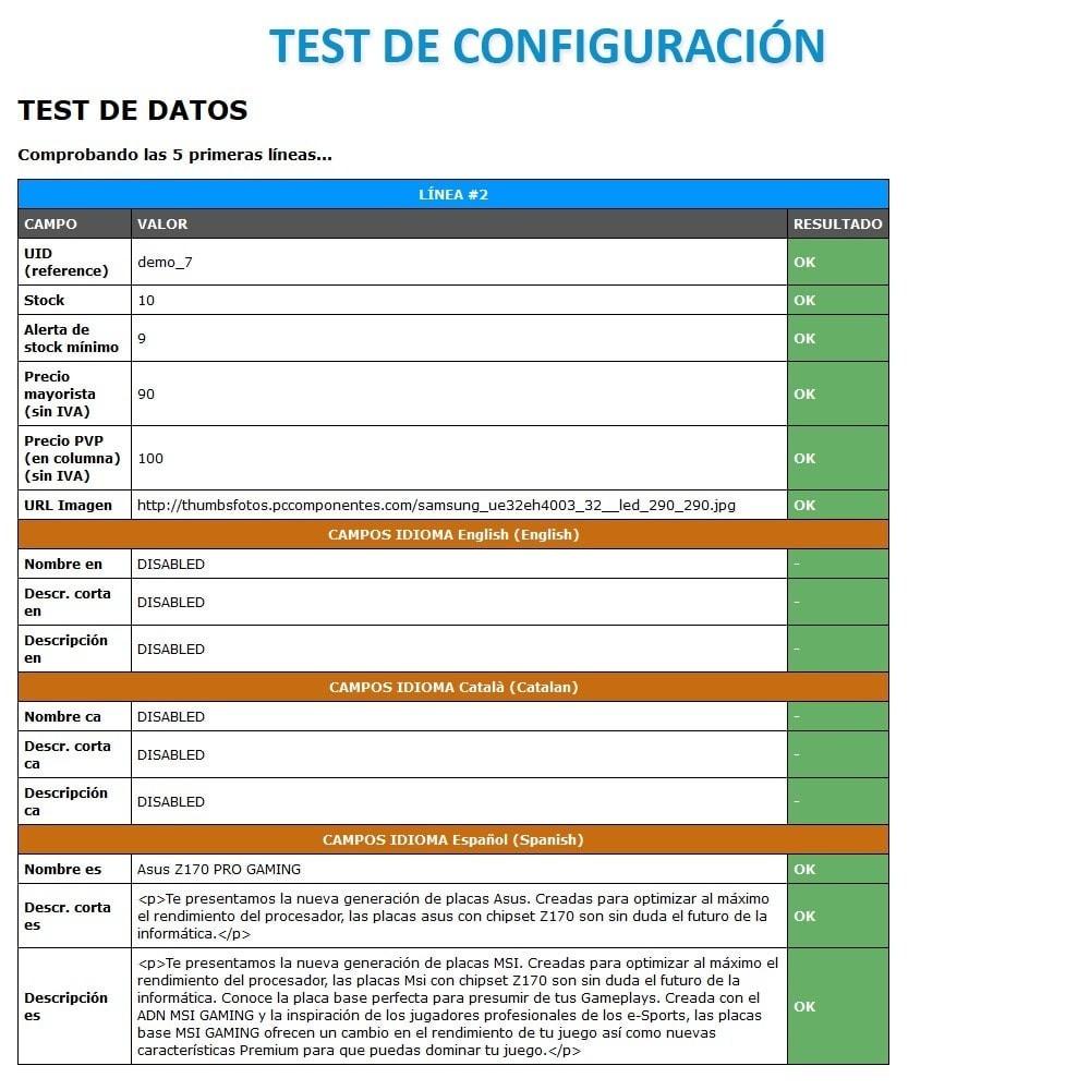 module - Importación y Exportación de datos - Actualizar datos CSV/XML vía URL/FTP cronjob compatible - 13