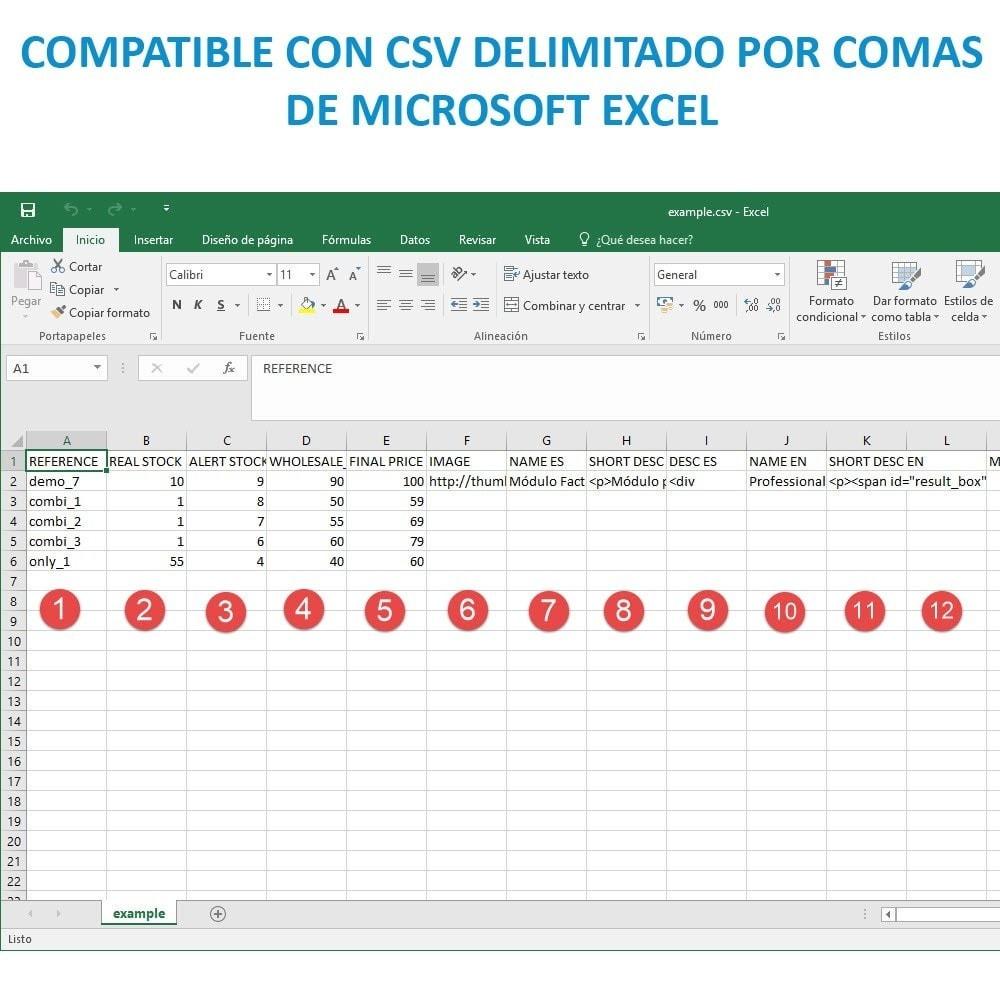 module - Importación y Exportación de datos - Actualizar datos CSV/XML vía URL/FTP cronjob compatible - 15