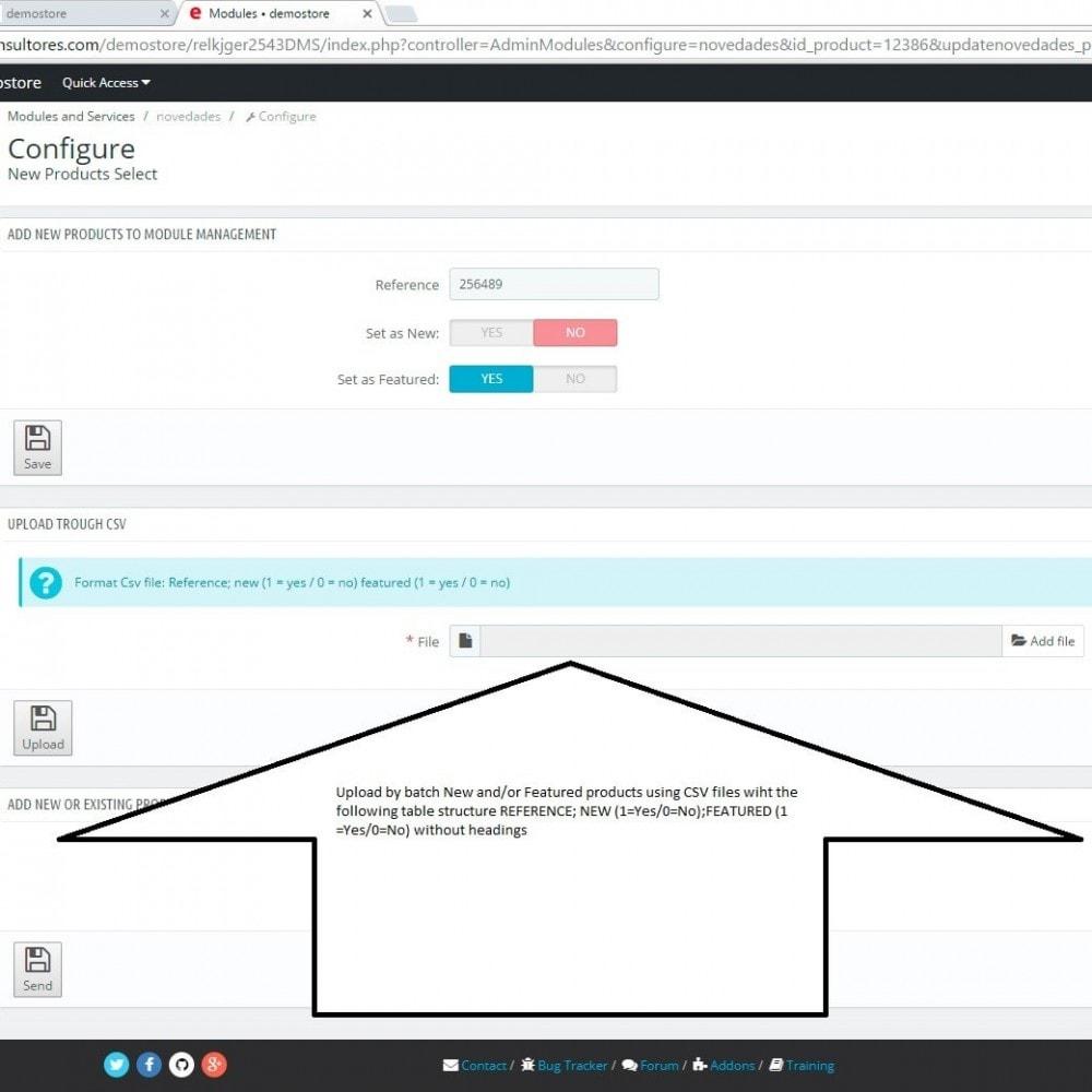 module - Amministrazione - New Product Select - 3
