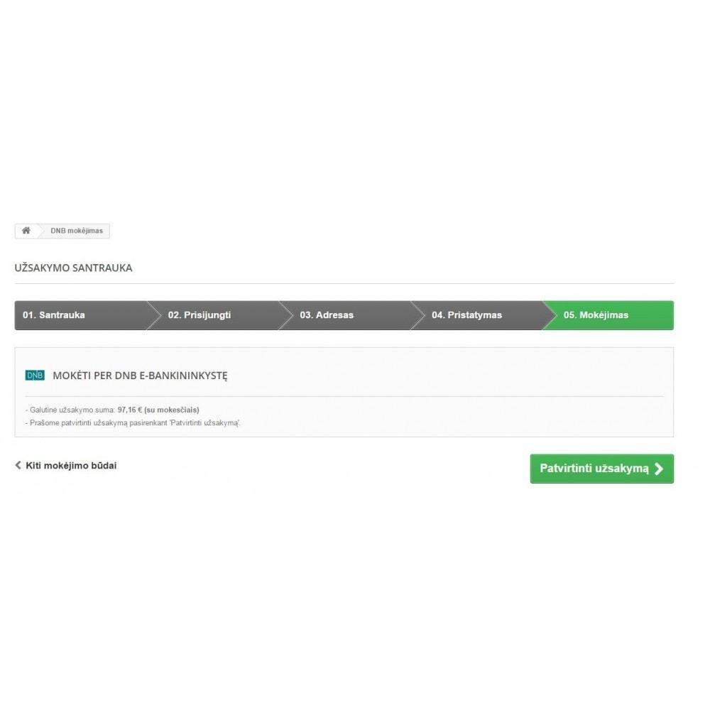 module - Zahlung per Überweisung - Luminor BankLink Lithuania (Lietuva) - 2